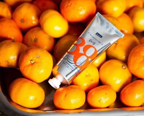 Produkt: Feinpeeling Mandarin der Dr. Dr. R. Heberer Naturheilmittel GmbH, entrepreneurin.eu, Universität Hohenheim